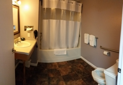 Room 115 Bathroom